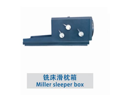 铣床滑枕箱